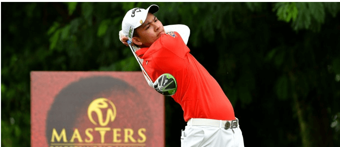 Arnond Vongvanij tied for the lead at RMW Masters