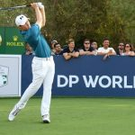 Fitzpatrick takes second round lead at DP World Tour Championship