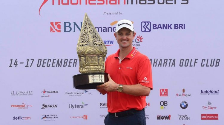 Justin Rose wins Indonesian Masters by a record score