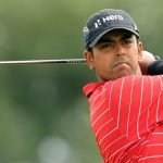 Lahiri starts strong, Tiger posts 66, Poulter leads by a shot with 62 at WGC-Bridgestone