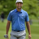 Jon Rahm shoots 62 for lead at Career Builder Challenge