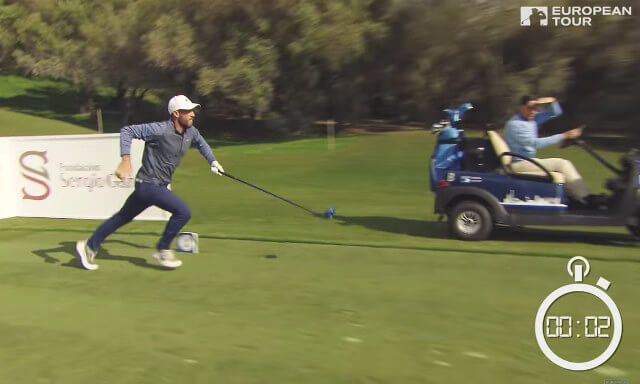 The fastest hole of golf by a team