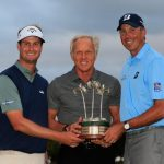 Matt Kuchar and Harris defend QBE Title