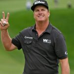 Charley Hoffman leads round two at Hero World Challenge