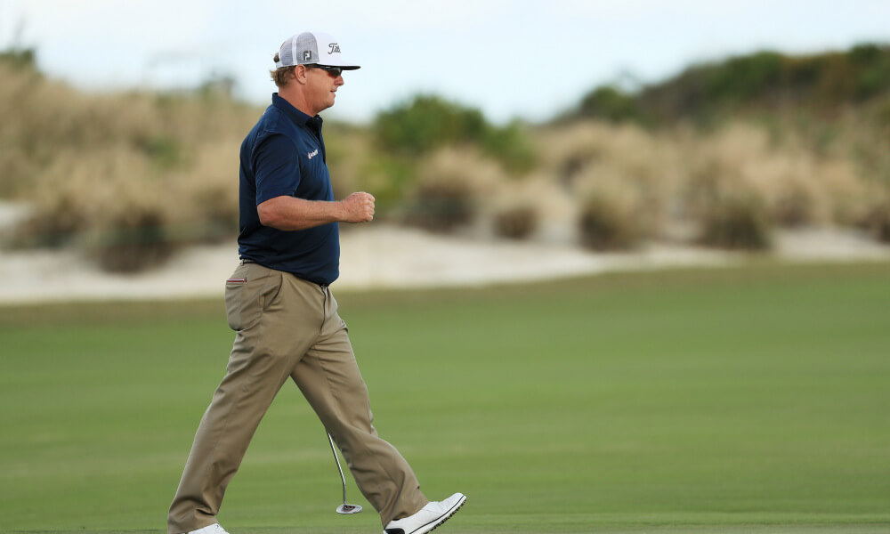 Charley Hoffman continues to lead at Hero World Challenge