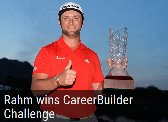 Jon Rahm wins Career Builder Challenge in a playoff