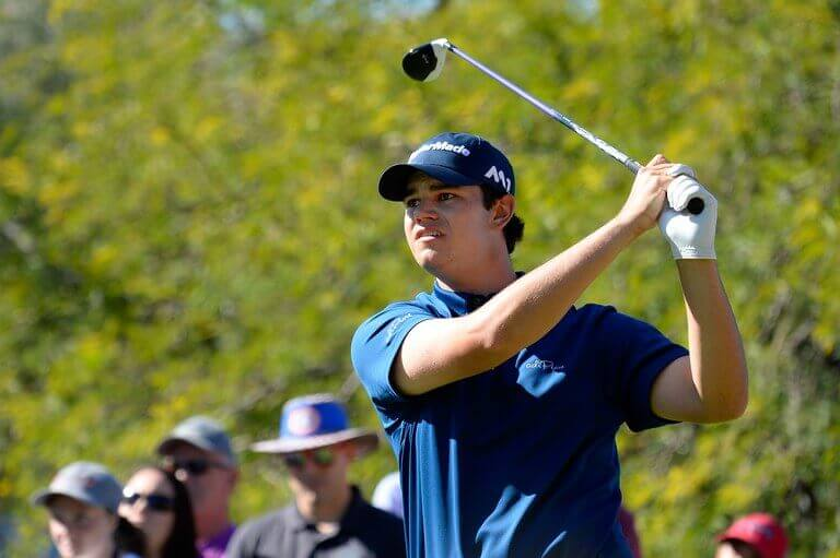 Beau Hossler takes a shot lead over Rickie Fowler