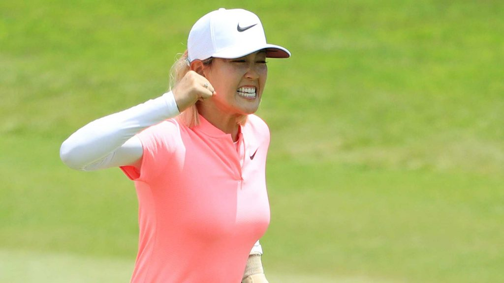 Michelle Wie wins the HSBC Womens World Championship