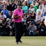 Patrick Reed wins his first major at the Masters Tournament