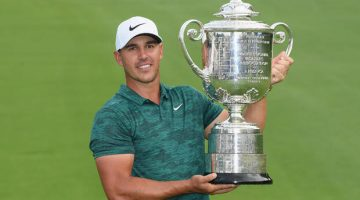 Brooks Koepka's third major win and what does it mean statistically