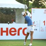 Christine Wolf leads the pack at Hero Women's Indian Open