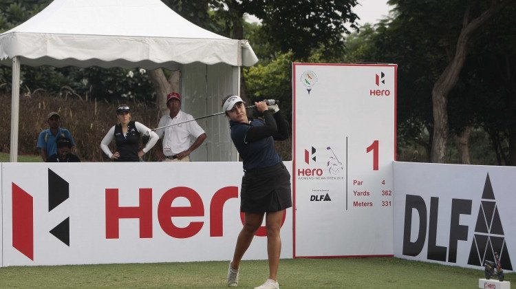 Ridhima leads Indian challenge, Tonje leads opening round at Hero Womens Indian Open