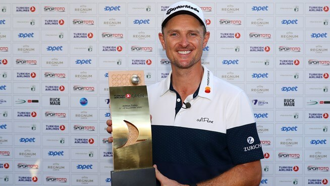 Justin Rose is World No.1 again