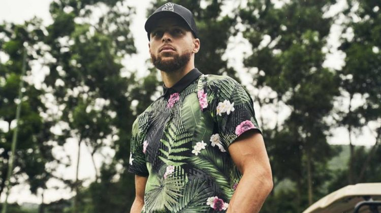 Stephen Curry launches golf apparel