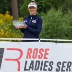 Charley Hull wins the first Rose Ladies Series Event